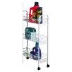 Household Essentials Slimline 3 Shelf Laundry Cart