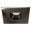 """WAC Lighting Miniature LED Open Reflector Square 2"""" Recessed Housing"""