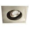 "WAC Lighting Miniature LED Adjustable Square 2"" Recessed Housing"