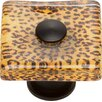 Atlas Homewares Cheetah Square Knob