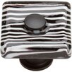Atlas Homewares Glass  Square Knob