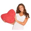 Deluxe Comfort Scarlet Valentine Plush Cotton Throw Pillow