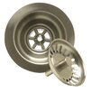Mountain Plumbing Kitchen Sink Strainer with Spring Loaded Center Post