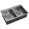 Water Creation Double Bowl Kitchen Sink