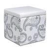 Foremost DIY-Draw it Yourself Ottoman