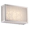 Metropolitan by Minka Lake Frost 1 Light Wall Sconce