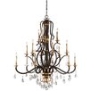 Metropolitan by Minka Chateau Nobles 15 Light Candle Chandelier