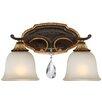 Metropolitan by Minka Chateau Nobles 2 Light Vanity Light