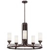 Metropolitan by Minka Industrial 5 Light Chandelier