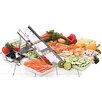 Paderno World Cuisine Bron Pusher in Silver