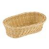 Paderno World Cuisine Reinforced Oval Polyrattan Bread Basket (Set of 3)