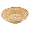Paderno World Cuisine Splayed Round Polyrattan Bread Basket (Set of 7)