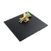 "Paderno World Cuisine 12"" Square Natural Slate Tray"