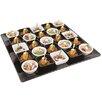 """Paderno World Cuisine 20.13"""" Square Melamine Platter"""