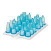 Paderno World Cuisine 24 Piece Assorted Polycarbonate Pastry Tip Set