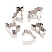 Paderno World Cuisine 12 Piece Stainless Steel Easter Cookie Cutters Set (Set of 2)
