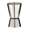 Paderno World Cuisine Stainless Steel Cocktail Measuring Cup (Set of 2)