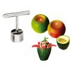 Paderno World Cuisine Stainless Steel Cutter and Corer