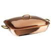"Paderno World Cuisine 13.88"" Copper and Tin Roasting Pan"
