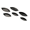 "Paderno World Cuisine 2.38"" Non-Stick Plain Boat Mold (Set of 10)"