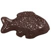 Paderno World Cuisine Fish Imprints Chocolate Mold in Clear