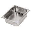Paderno World Cuisine Stainless Steel Hotel Pan - 1/2 in Silver (Set of 2)