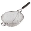 Paderno World Cuisine Strainer with Reinforced Support in Silver