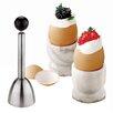 Paderno World Cuisine Stainless Steel Egg Topper (Set of 2)