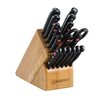Wusthof Gourmet 18 Piece Knife Block Set in Beech
