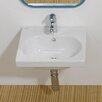 Bissonnet Traffic Minnie Ceramic Bathroom Sink