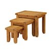 Heartlands Furniture Acorn 3 Piece Nest of Tables