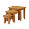 Heartlands Furniture 3-tlg. Satztisch-Set Acorn