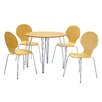 Heartlands Furniture 5-tlg. Essgruppe Fiji