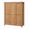 Heartlands Furniture Acorn 3 Door Wardrobe