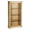Heartlands Furniture Rustic Corona 150cm Standard Bookcase