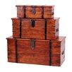 Heartlands Furniture 3-tlg. Truhen-Set Jaipur