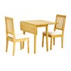 Heartlands Furniture Avens Extendable Dining Table and 2 Chairs