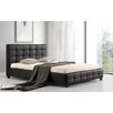 Heartlands Furniture Lattice Upholstered Bed