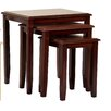 Heartlands Furniture Kingfisher 3 Piece Nest of Tables