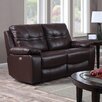 Heartlands Furniture Rockport 2 Seater Power Reclining Loveseat