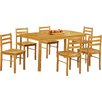 Heartlands Furniture York Dining Table and 6 Chairs