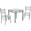 Heartlands Furniture Oslo Dining Table and 2 Chairs