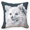 Naked Decor Pomeranian Cotton Throw Pillow