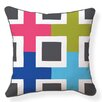 Naked Decor Structure Cotton Throw Pillow