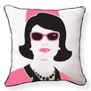 Naked Decor First Lady Cotton Throw Pillow