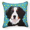 Naked Decor Pooch Décor Bernese Mountain Dog Indoor/Outdoor Throw Pillow