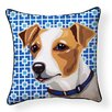 Naked Decor Pooch Décor Jack Russell Indoor/Outdoor Throw Pillow