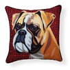 Naked Decor Pooch Décor Boxer Indoor/Outdoor Throw Pillow