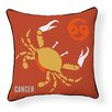 Naked Decor Cancer Indoor/Outdoor Throw Pillow
