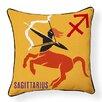 Naked Decor Sagittarius Indoor/Outdoor Throw Pillow